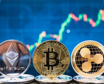 Business bitcoin, ethereum and XRP coins currency finance money on graph chart background,Image: 482399018, License: Royalty-free, Restrictions: , Model Release: no