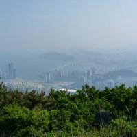 B-e-a-u-tiful views on Jangsan Mountain