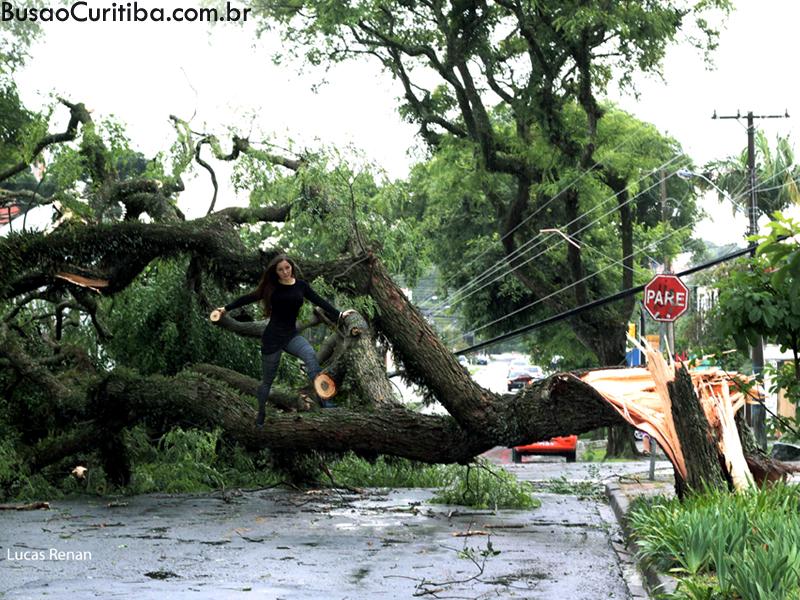 Tempestade e desastres em Curitiba
