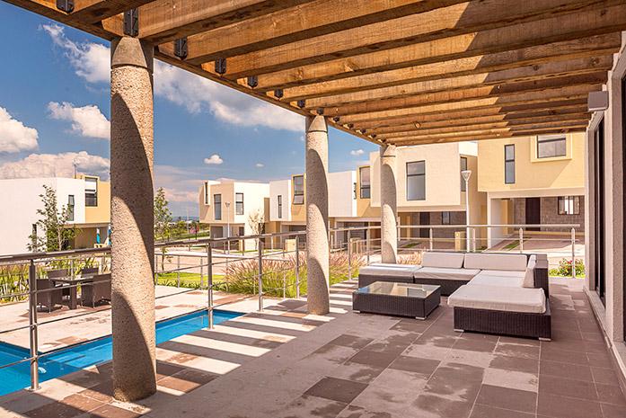 Casas en Querétaro - Casa club - Antalia Residencial