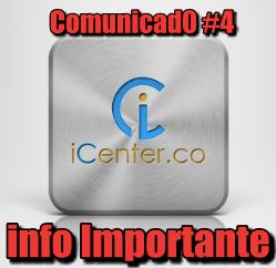 Lee más sobre el artículo iCenter INFORMACION IMPORTANTE (#4)