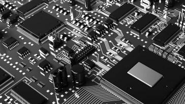 motherboard-black-and-white-technology-20916