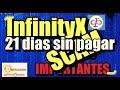 En este momento estás viendo InfinityX 21 dias sin pagar SCAM