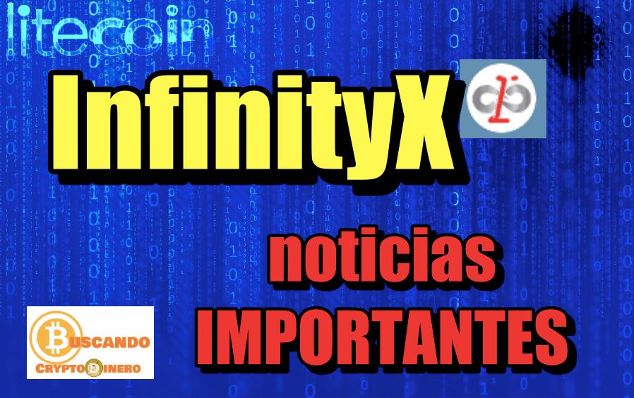 En este momento estás viendo InfinityX NOTICIAS IMPORTANTES LTC & BTC