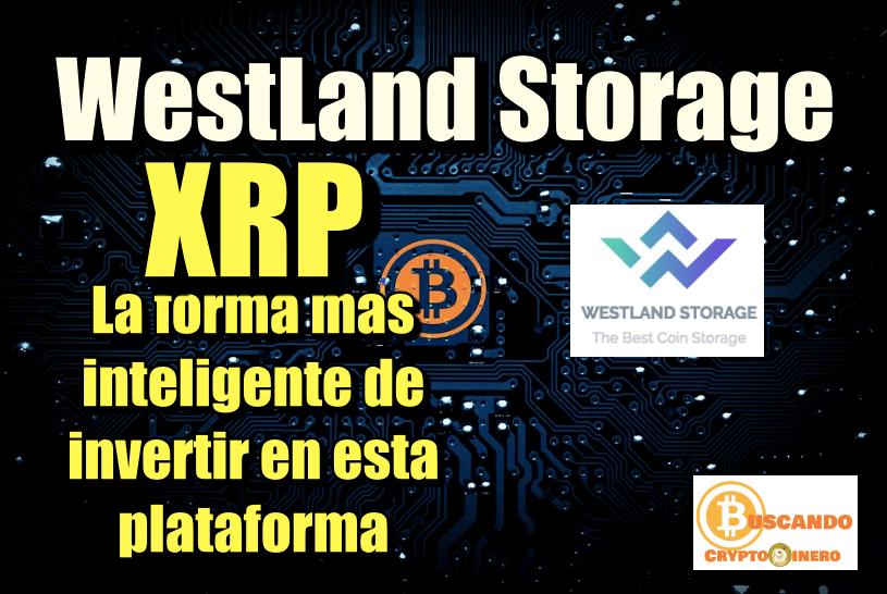 En este momento estás viendo WestLand Storage porque XRP es la mejor opcion para invertir con ellos