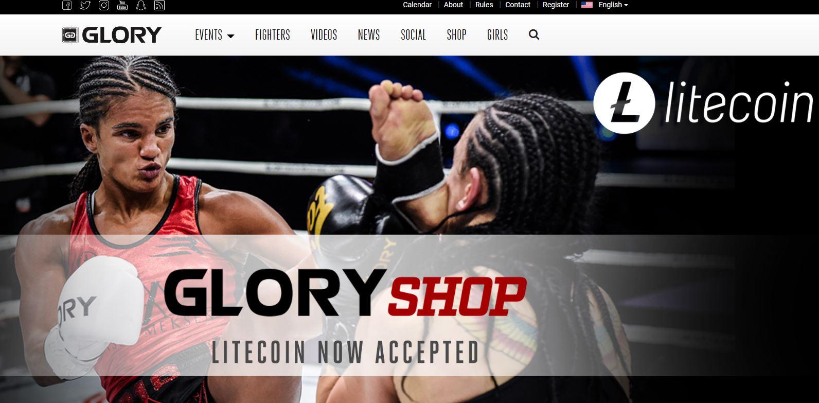 En este momento estás viendo La Fundación Litecoin se asocia con Glory Kickboxing para hacer de LTC la cripto oficial de la Liga