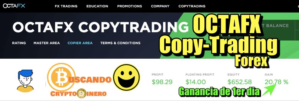 En este momento estás viendo OctaFX  CopyTrading Forex