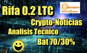 Lee más sobre el artículo Rifa 0 2 Ltc + Noticias + OctaFX + Bajada de BTC?