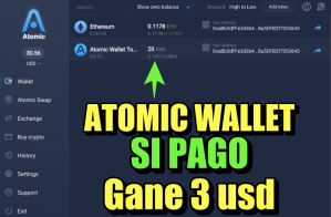 Lee más sobre el artículo Airdrop Atomic Wallet GANE 3 USD… SI PAGO !!