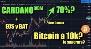 Lee más sobre el artículo Cardano posible 70%? Analisis en EOS, BAT, Bitcoin a los 10k?