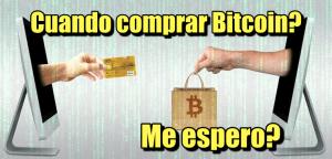 Lee más sobre el artículo Cuando debo comprar Bitcoin? Me espero a que baje el precio?