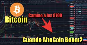 Lee más sobre el artículo Bitcoin camino a los 8700