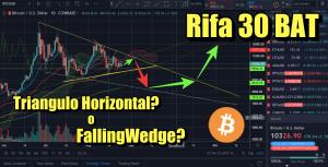 Lee más sobre el artículo Bitcoin Triangulo Horizontal o fallingWedge? + Rifa 30 bat + CryptoNoticias