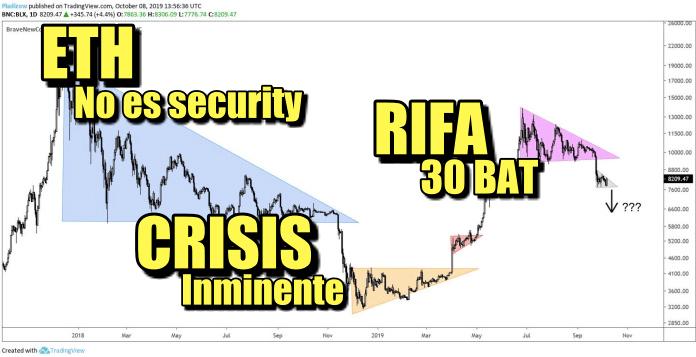 En este momento estás viendo ETH con buenas noticias + Crisis financiera + Rifa de 30 BAT