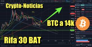 Lee más sobre el artículo Bitcoin a 14k pero primero….      + Rifa de 30 BAT + Noticias