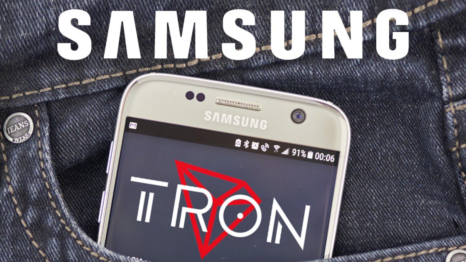 En este momento estás viendo Samsung agrega soporte para Tron Network a Blockchain Dapp Store
