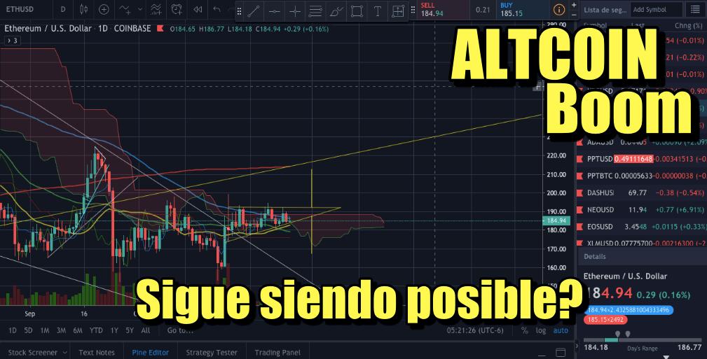 En este momento estás viendo ALTCOIN Boom sera aun posible? Lo analizamos