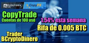 Lee más sobre el artículo 1.54% esta semana en CopyTrade Robofrex + Rifa de 0.005 BTC