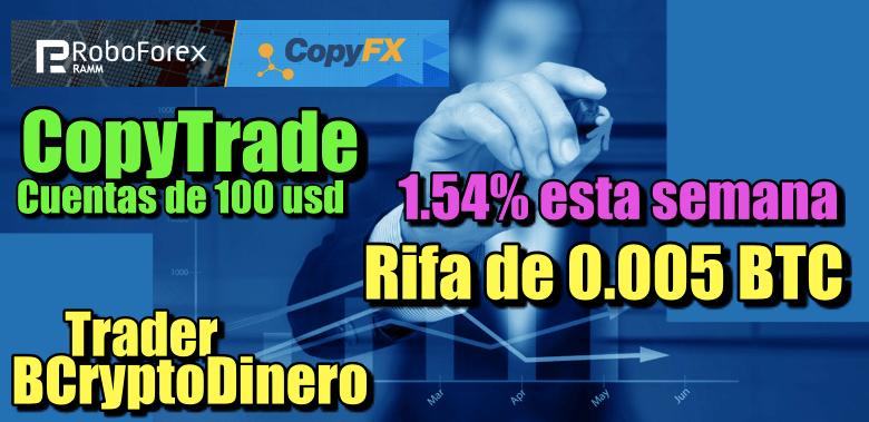 En este momento estás viendo 1.54% esta semana en CopyTrade Robofrex + Rifa de 0.005 BTC