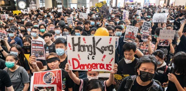 En este momento estás viendo Las furiosas protestas en Hong Kong han reducido su sector minorista en la historia