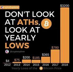 Lee más sobre el artículo Bitcoin la historia desde 2010 (Bajos Anuales)