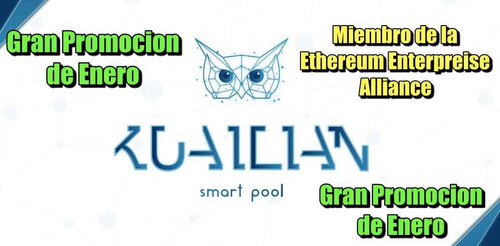 En este momento estás viendo KUAILIAN miembro de la Ethereum Enterprice Alliance & Gran Promocion de Enero y