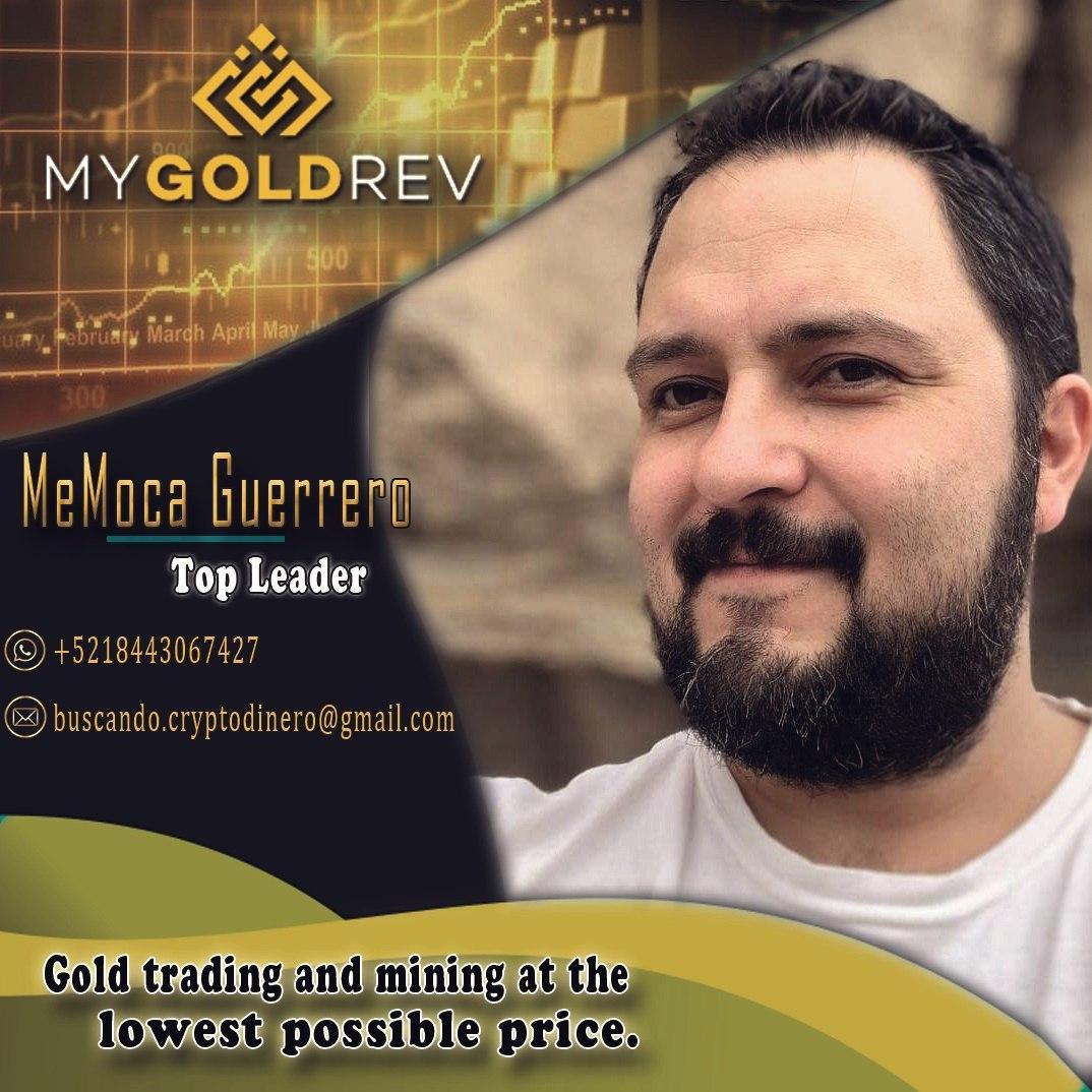 En este momento estás viendo MyGoldRev me llego esta imagen de el CEO