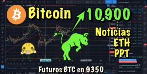 Lee más sobre el artículo Bitcoin esta semana a 10,900?? Bandera Alcista?? Noticias y novedades