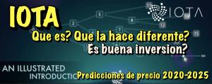 Lee más sobre el artículo Que es IOTA (MIOTA)?  Predicciones de precio 2020-2025