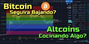 Lee más sobre el artículo Altcoins preparando movimiento? Bitcoin seguira bajando o encuentra soporte?