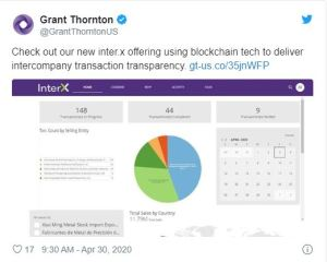 Lee más sobre el artículo La sucursal estadounidense de la séptima firma de contabilidad más grande, Grant Thornton, aprovechará EOS Blockchain