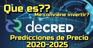 Lee más sobre el artículo Decred (DCR) Que es? Predicciones de precio 2020-2025… Me conviene Invertir?