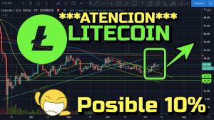 Lee más sobre el artículo ATENCION LITECOIN posible subida de 10% inicial !!
