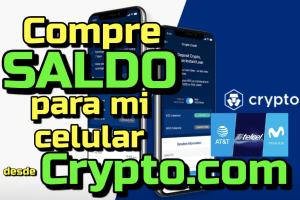 Lee más sobre el artículo Comprando saldo para mi celular con Crypto com en Mexico!!!