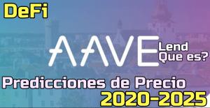 Lee más sobre el artículo Aave (Lend) Que es?? Prediccion de precios 2020-2025… Me conviene invertir?