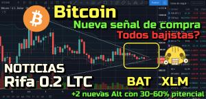Lee más sobre el artículo Bitcoin nueva Señal de compra?? sentimiento bajista!!! +Altcoins + Noticias + Rifa 0.2 LTC