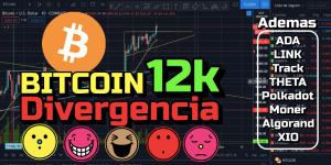 Lee más sobre el artículo Bitcoin paso los 12k… PERO…DIVERGENCIA !!!  ADA, LINK, OrginT, Theta, Polkadot, Monero, Algo,XIO