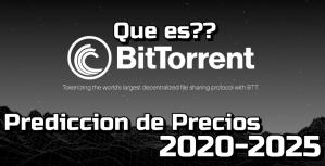 Lee más sobre el artículo BitTorrent Que es?? Prediccion de precios 2020-2025… Me conviene invertir??