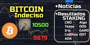 Lee más sobre el artículo Bitcoin indeciso entre soporte y resistencia + Resultados de Staking !!!