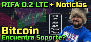 Lee más sobre el artículo BITCOIN encontro soporte??? + Rifa 0.2 LTC + Noticias y ETH, LTC, XLM, ADA, Tezos y Theta!