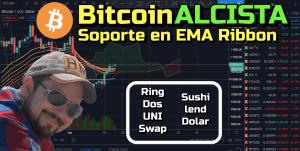Lee más sobre el artículo BItcoin ALCISTA + Ring, Dos, UNI, TrustSwap, Sushi, Lend y Dolar !!!