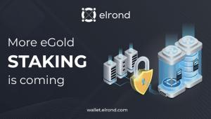 Lee más sobre el artículo Se acerca más Staking en Elrond