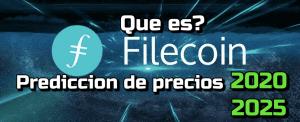 Lee más sobre el artículo Filecoin (FIL) Que es?? Prediccion de precios 2020-2025… Me conviene invertir?