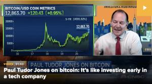 Lee más sobre el artículo Paul Tudor Jones dice que le gusta aún más bitcoin ahora, repunte aún en la «primera entrada»