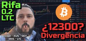 Lee más sobre el artículo Bitcoin a probar los 12300?? + RIFA 0.2 LTC + Ocean, Kusama, Polkadot, Iris y Litecoin!!