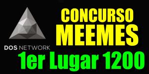 Lee más sobre el artículo Concurso de $DOS para el creadores de Meemes