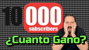 Lee más sobre el artículo Cuanto me pago Youtube con 10000 subscriptores?? 🤯🤯