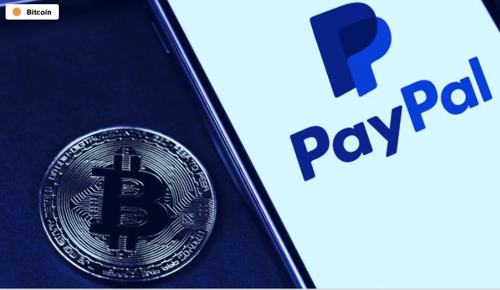 En este momento estás viendo PayPal alcanza los $ 240 millones en operaciones de cifrado a medida que los mercados se recuperan