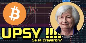 Lee más sobre el artículo ⛔️Bitcoin ¿Seguiras Bajando📉? «OPPPSSSSYYY 😅dice Yellen» + 11 Altcoins