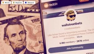Lee más sobre el artículo Grupo de Reddit 'WallStreetBets' se abre a Bitcoin, Ethereum, Dogecoin
